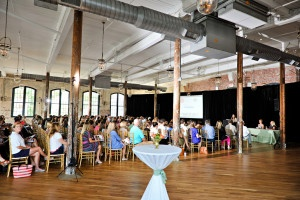 AV rentals at cedar room cigar factory by AV Connections, Charleston