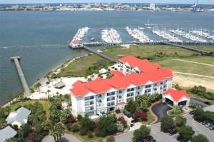 AV rentals Charleston harbor resort