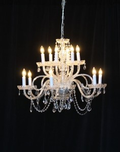 Large Crystal Chandelier Rental from AV Connections Charleston SC
