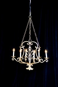 Large Gold Chandelier Rental AV Connections Charleston SC