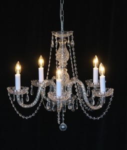 Medium Crystal Chandelier rental AV Connections Charleston SC