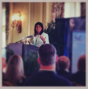 audio visual rentals South Carolina Governor Nikki Haley conference on AV Connections