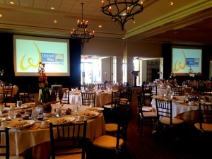 Award ceremony AV rentals by AV Connections Charleston SC