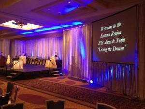 Conference audiovisual lighting Atlanta by AV Connections
