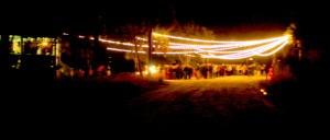 Outdoor event lighting Kiawah