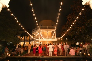Wedding lighting specialty design Charleston SC by AV Connections