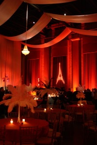 Charleston gala lighting