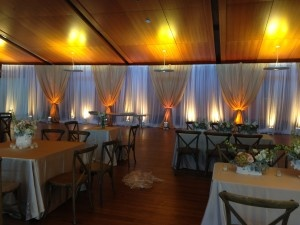Charleston wedding uplighting by AV Connections