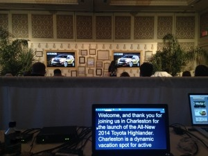 Charleston convention audiovisual
