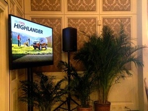 Charleston convention audiovisual