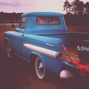 so pro bluffton blue truck