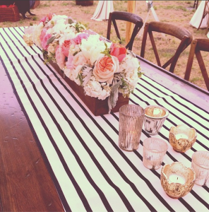 so pro bluffton wedding runners and floweres