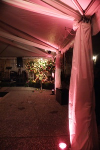 Wedding Lighting Design Charleston South Carolina AV Connections