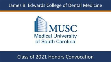 MUSC Class of 2021