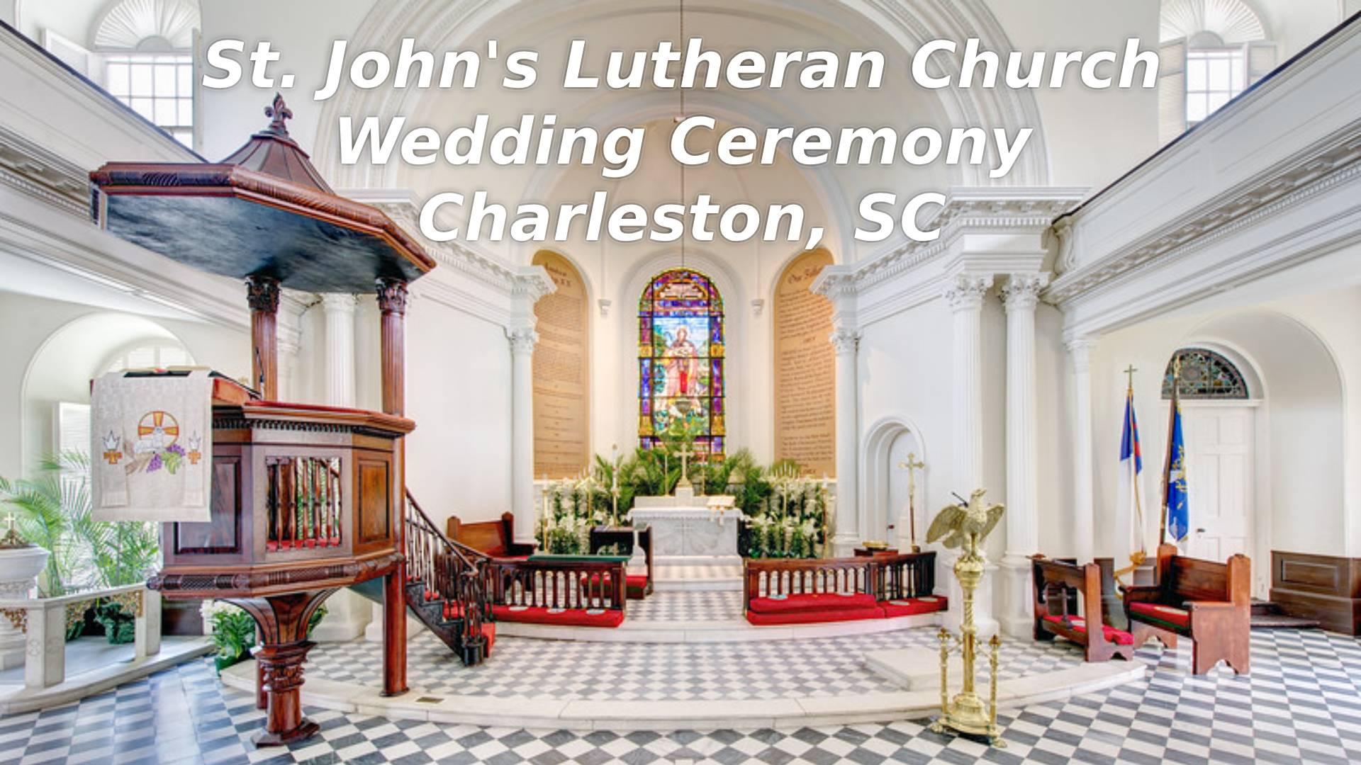 St Johns Lutheran Ceremony